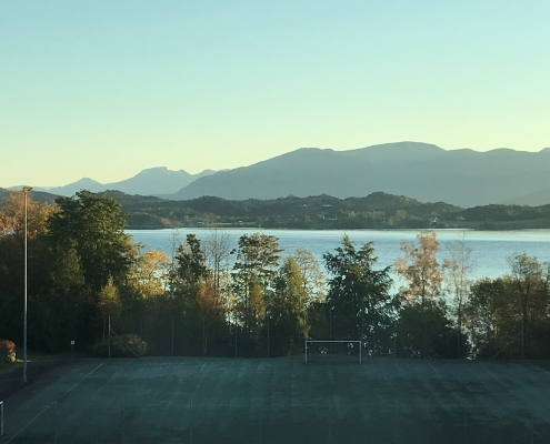 HVL campus Stord, view from office